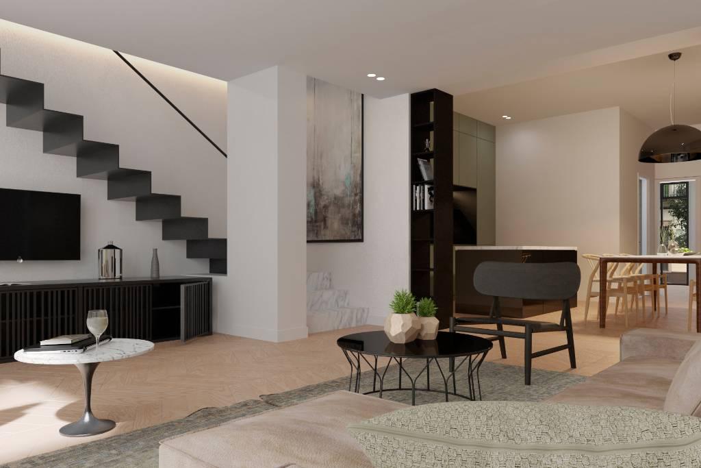 Brand new, high quality 4 bedroom, 3 bathroom duplex apartment ...